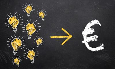 Ideen werden zu Geld