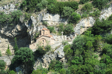 The chapel of St. Michele at Berat