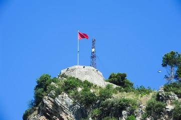 The fortless of Kala at Berat