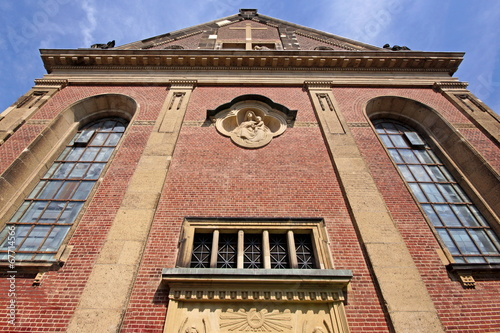 canvas print picture Dyonisiuskirche in KREFELD