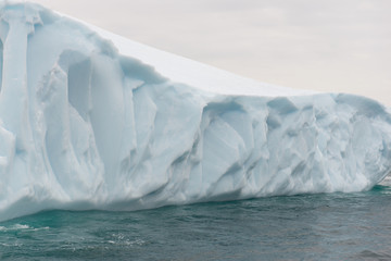 Detail of an iceberg