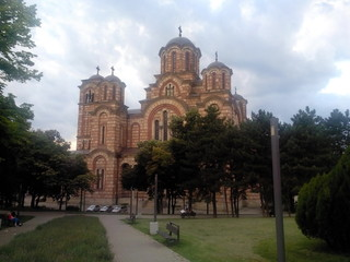 St. Mark's Church in Belgrade (Serbia)