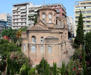 The Church of Panagia Chalkeon, Thessaloniki, Greece.