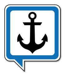 Logo ancre marine.