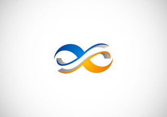 infinity abstract logo