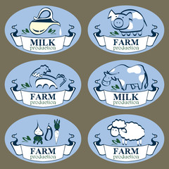 milk farm production labels