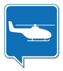 Logo hélicoptère.