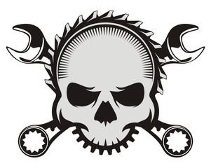 skull spanner