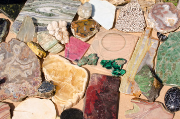 semiprecious stones and minerals