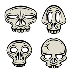 Halloween Skull Set