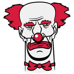 Clown Gangster böse witzig