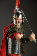 Roman Soldier With Sword