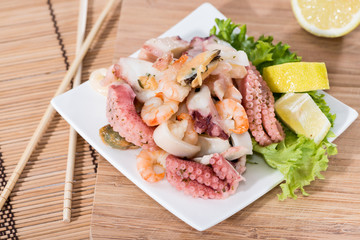 Tasty Seafood Salad