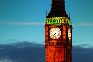 Big Ben closeup