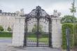 Metal gate in Belvedere Gardens, Vienna