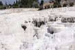 Pamukkale travertines like waterfalls