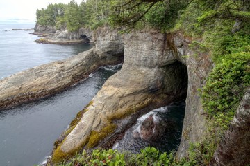 Coastal Cliffs at Cape Flattery