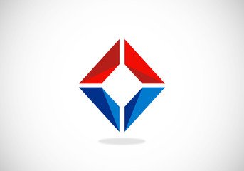 3D-square-vector-logo