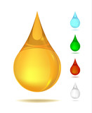 oil,drop of liquid