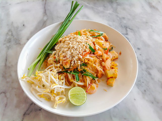 Stir-fried Glass Noodle - Phad thai