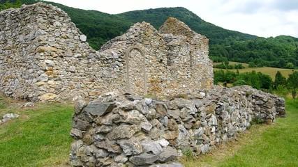 The ruins of the Hussite Church - Lucka, near Roznava, Slovakia