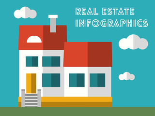 Real Estate Infographic Element