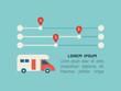 Transportation Infographic Element
