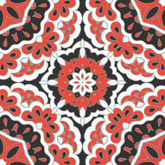 Arabesque seamless pattern.