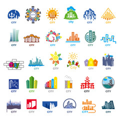 biggest collection of vector logos cities