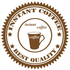 Instant Coffee-stamp