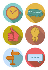Round river Icons