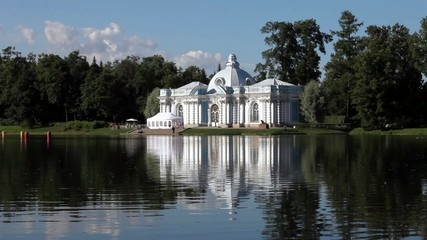 Beautiful white palace