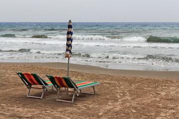 Strand in Alassio