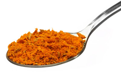 Grated turmeric