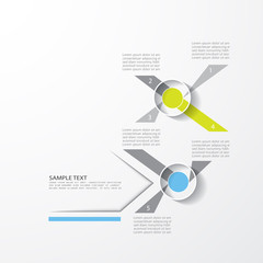 Minimal design template, vector illustration