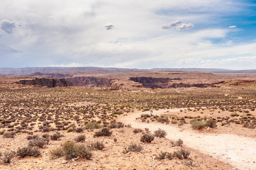 Horseshoe band Arizona on Colorado river.