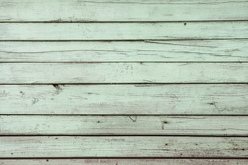 Green weathered wooden door texture