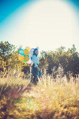 Girl With Balllons