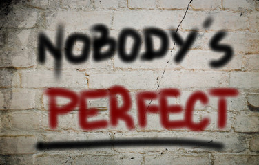 Nobody's Perfect Concept