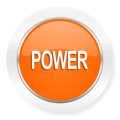 power orange computer icon