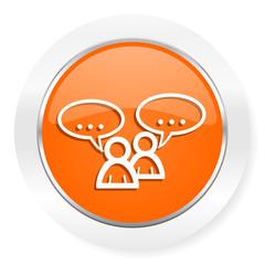 forum orange computer icon