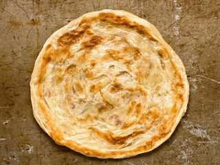 rustic indian roti prata