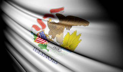 Flag of Illinois (USA)