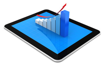Growth Chart and Tablet PC