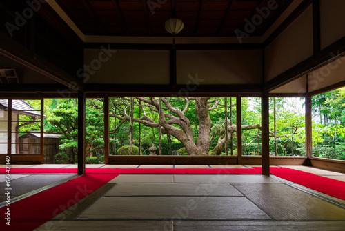 Foto op Canvas Bedehuis 日本庭園