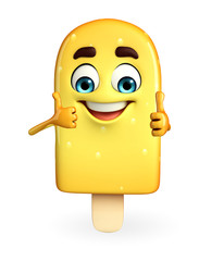 Candy Character With thumbs up pose