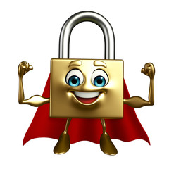 Super Lock Character
