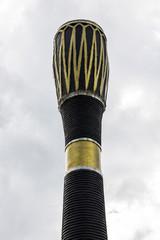 Thai Drum Statue