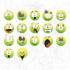 Зеленые мордочки