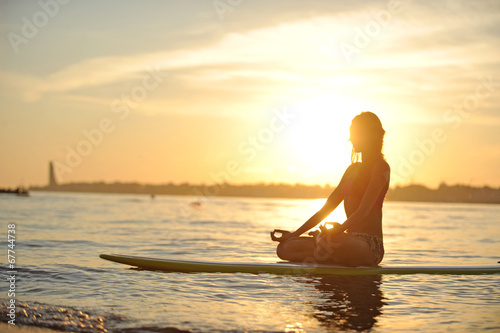 SUP Yoga Meditation